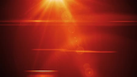 motion elements : News style lens flares on deep red rolling dots background seamless loop