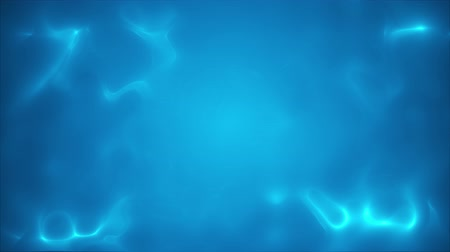 artístico : Tender light blue background with moving plasma, seamless loop Stock Footage