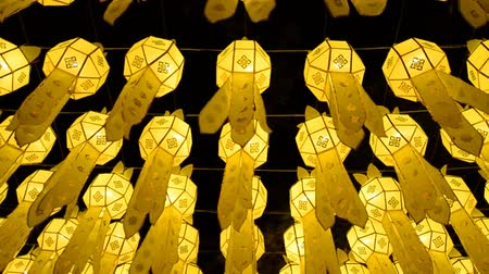 аккуратный : beautiful lanterns in loy krathong festival of chiang mai thailand