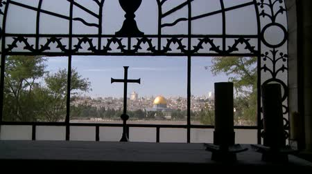 jerozolima : Dome of the Rock, Jerusalem Wideo
