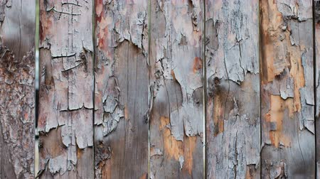 demolition : Background texture of wooden boards in motion on the right