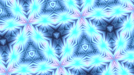yumuşaklık : Abstract background, club light, kaleidoscope Stok Video