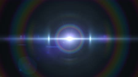 балки : anamorphic lens flare 3840x2160 4K, lights background .