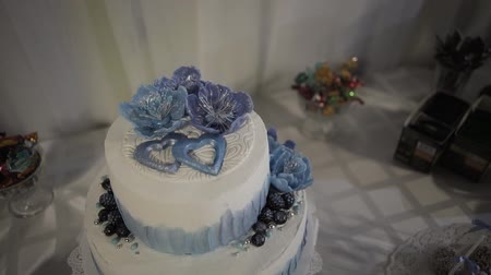 casar : Wedding Cake at a Wedding Party.