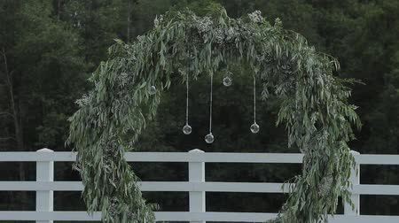 register : Beautiful decor of exit wedding registration.
