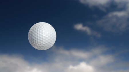 golfe : Golf ball flies past the camera, in a slightly dream-like way. 3 versions, each a different size ball.