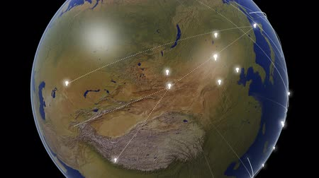оказывать : An idea symbolized by a lightbulb spreads around the whole earth.