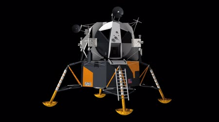 ntsc : Apollo 11 lunar lander. This was the vehicle used for the first ever manned landing on another celestial body.