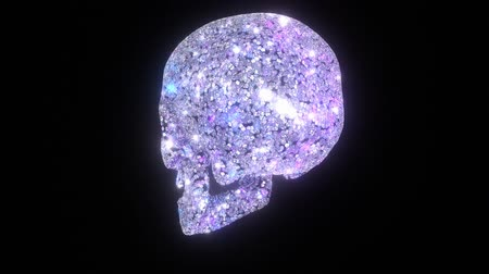 rombusz : A skull made from diamonds. Loops.