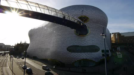 anglia : Wide-angle shot of Selfridges in Birmingham, UK.