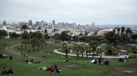 Mission Dolores park San Francisco. Vídeos