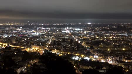 San Francisco city lights.