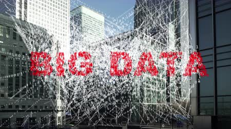 Big data - information being collected from Financial district towers.