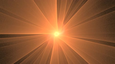 балки : Abstract Golden Star Rotating, Seamless Loop Animated Fractal