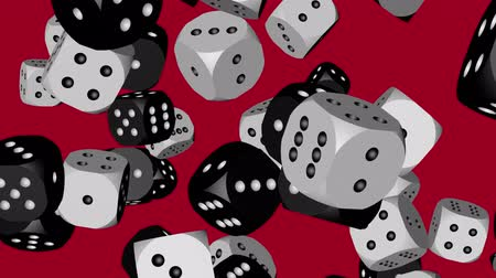clash : Black and White Color Dice Collided