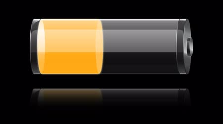 pil : glass orange battery charging