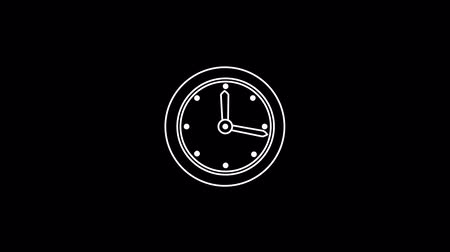 forma : Clock Thin Icon With Alpha Channel