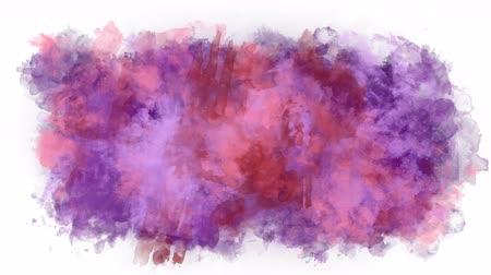 smudged : A stain of paint that changes color