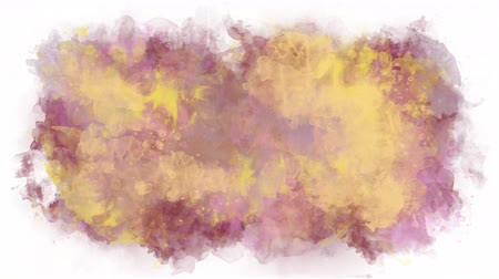 smudged : Watercolor background in soft pastel colors Stock Footage