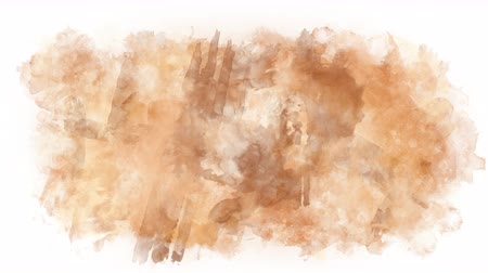 интенсивность : Light brown stain watercolor paint