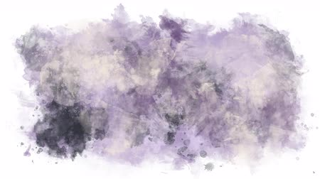 интенсивность : Violet milk watercolor background