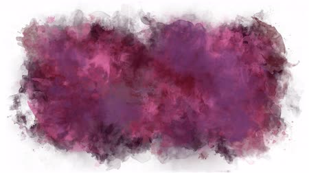 smudged : Cherry color watercolor background