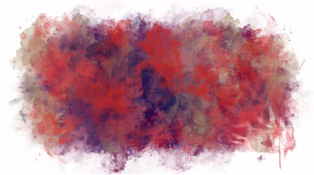 smudged : Animated texture of paint stains