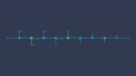 aziendale : Infographic Element - Timeline