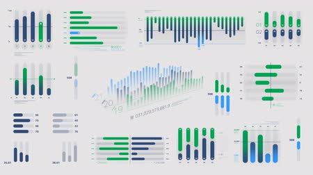 reporting : Infographics - color diagrams on the alpha channel
