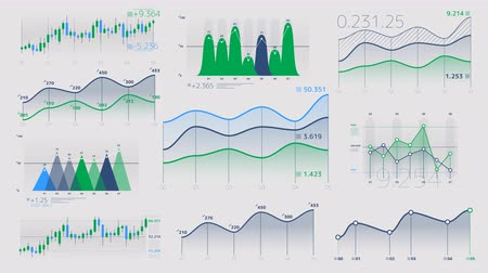 reporting : Linear and candlestick charts with neutral data