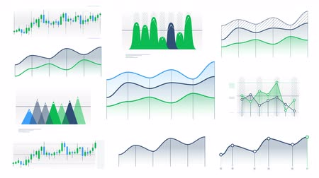 castiçal : Linear and candlestick charts without data Vídeos