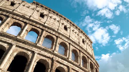 flavian : Coliseum of Rome on the sunny day, Italy