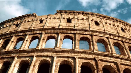colosseo : Roman Coliseum - Italy on the sunny day, Italy