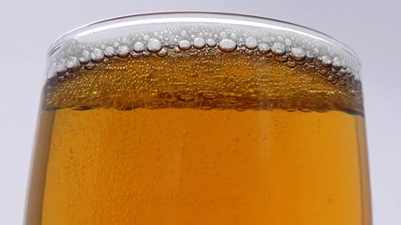 Sparkling Glass of Beer - Video