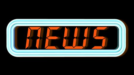atualizar : News - Neon Sign - Video Animation