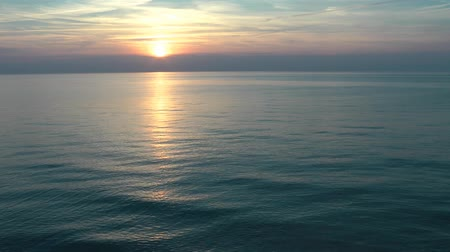 Tramonto al Mare - Video Estate Filmati Stock