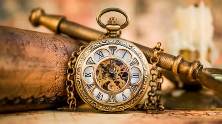 bolso : Vintage Antique pocket watch.