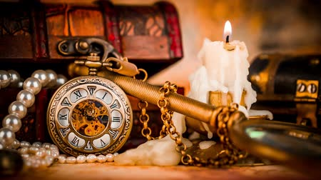 antika : Vintage Antique pocket watch.