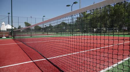 tennis game : Tennis court. Grid for tennis.