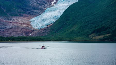 northen : Svartisen Glacier in Norway