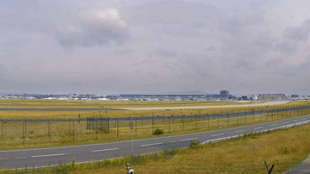 busiest : Frankfurt am main airport time lapse