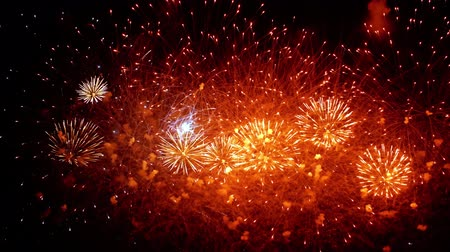 função : Colorful fireworks exploding in the night sky. Celebrations and events in bright colors.