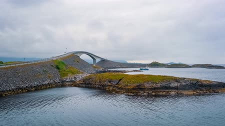 nordic countries : Norway Atlantic Ocean Road or Atlantic Road (Atlanterhavsveien) was awarded the title as Norwegian Construction of the Century. The road classified as a National Tourist Route.