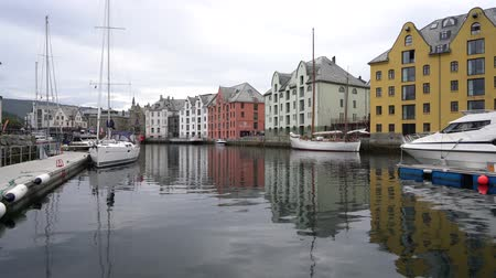 Aksla at the city of Alesund, Norway