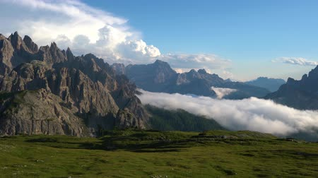 cime di lavaredo : National Nature Park Tre Cime In the Dolomites Alps. Beautiful nature of Italy.