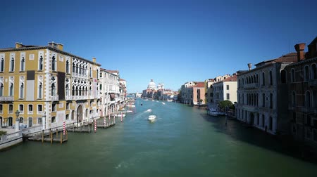 palazzo : Grand canal in Venice, Italy time lapse video