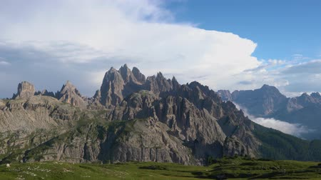 dolomit : National Nature Park Tre Cime In the Dolomites Alps. Beautiful nature of Italy.
