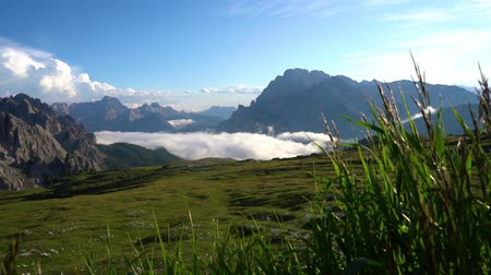 tre : National Nature Park Tre Cime In the Dolomites Alps. Beautiful nature of Italy.
