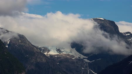 geiranger : Glacier Kjenndalsbreen Beautiful Nature Norway natural landscape.