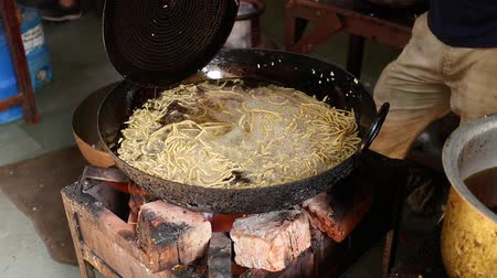 gevrek : Murukku Indian street food Rajasthan state in western India.